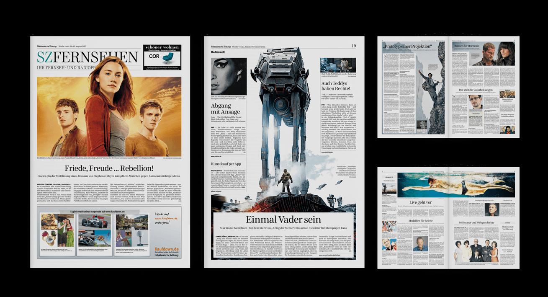Süddeutsche Zeitung – Fernsehbeilage
