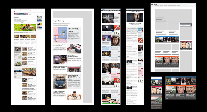 Flexible Content-Module – Konzeption & Layout